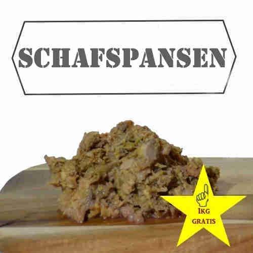 12kg Schafpansen (24x 500g) - Barf für Hunde / Barffleisch / Frostfutter / Frostfleisch / Barf / Frisches Futter / Rohfleisch / Rohfutter / Hundefutter / Pansen / Schaf Fleisch