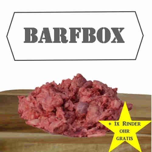 """Barfbox """"Geflügel- und Rindfleischkiste"""" 25kg Barffleisch / Barf für Hunde / Hundefutter / Katzenfutter / Frostffutter / Frostfleisch / Barf Paket"""