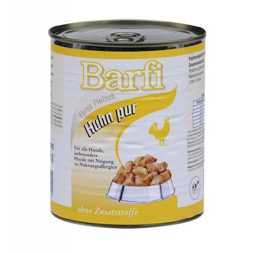 Barfi Huhn Barffleisch in Dosen 400g, 6-er Pack