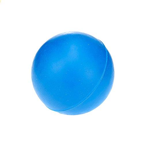Classic Pet Products Spielball für Hunde, Gummi, robust, 60mm, Blau