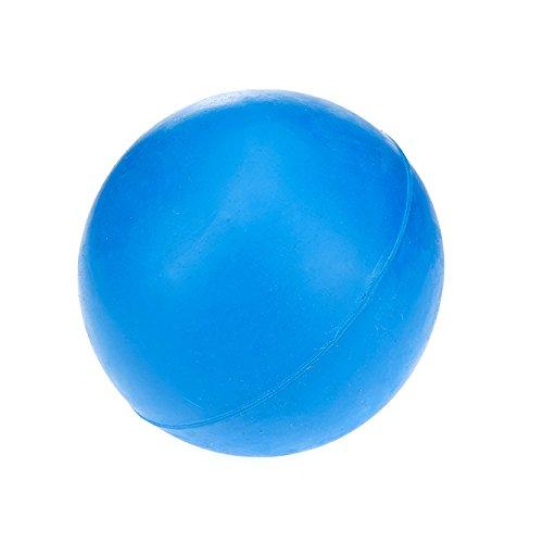 Classic Pet Products Spielball für Hunde, Gummi, robust, 70mm, Blau