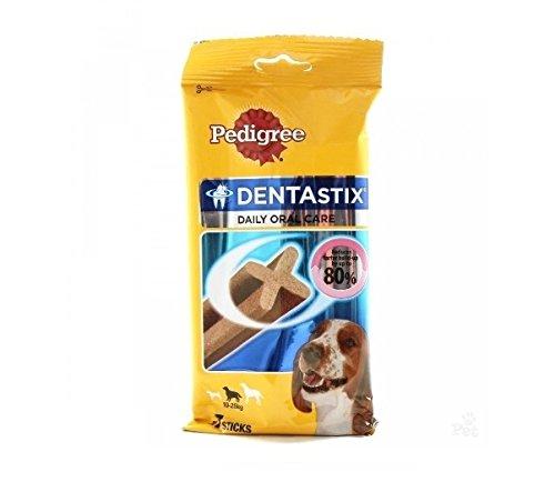 , Dentastix Medium-Snack für die Mundhygiene für Hunde, mittelgroß