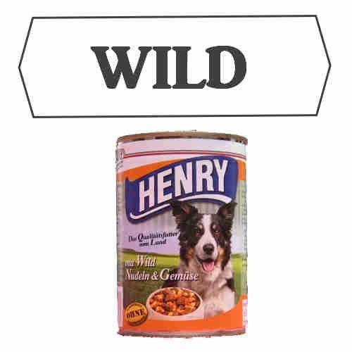"""Dosenfutter """"Wild"""" (6x 800g) Dosennahrung / Barf aus der Dose / Barf für Hunde / Hundefutter / Katzenfutter / Dosenffutter / Dosenfleisch / Barf Paket"""