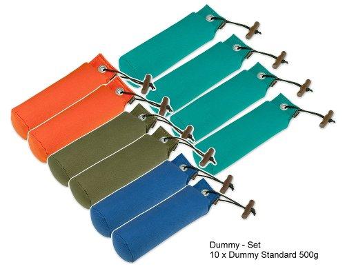 Dummy-Set 10 x Standard Dummies 500g farblich gemischt Dummyset