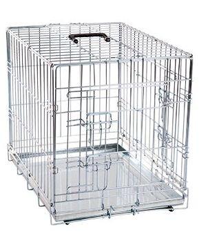 Hunde Transportbox Transportkäfig Drahtbox Größe XXL 120x76x82cm