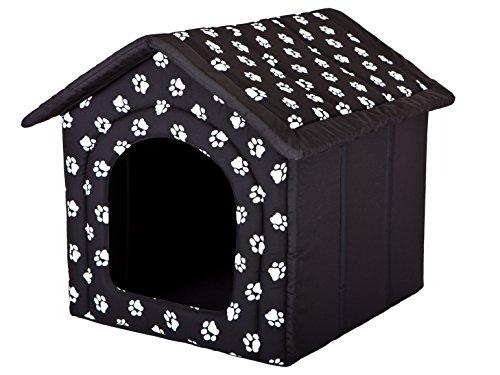 Hundehütte HOBBYDOG, Größe 4, 60x55cm, aushaltbares Codurastoff, waschbar bei 30 ° C, Beständigkeit gegen Kratzer, EU-Produkt