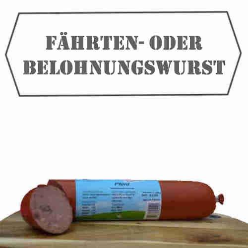 """Hundewurst """"100% Pferd"""" (6x 800g) Fleischwurst / Barffleisch / Barf für Hunde / Hundefutter / Katzenfutter / Frostffutter / Frostfleisch / Barf Paket"""