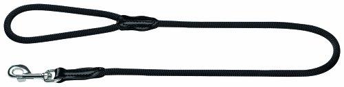 Hunter 39115 Führleine Freestyle, schwarz, 10 mm breit, 110 cm lang