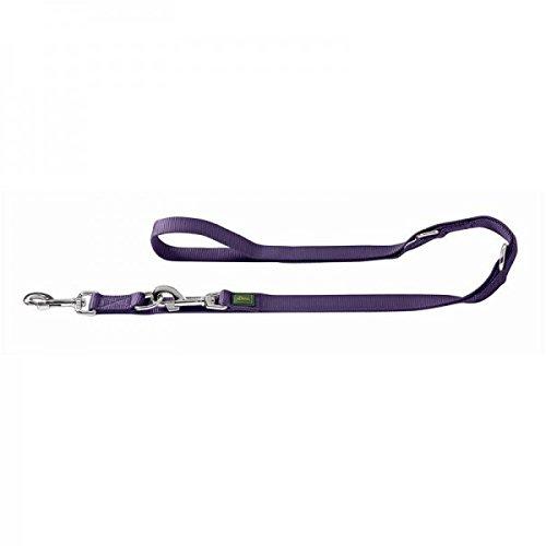 Hunter 46676 Verstellbare Führleine 15/200_Nylon, violett