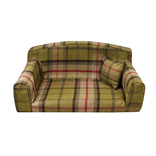Hunter Hundebett Royal, PET Sofa. 3Größen. Hohe Qualität Bezug Material. Hergestellt in Großbritannien