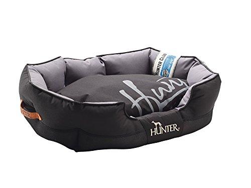 Hunter Hundesofa Grimstad, 75 x 50 cm, schwarz