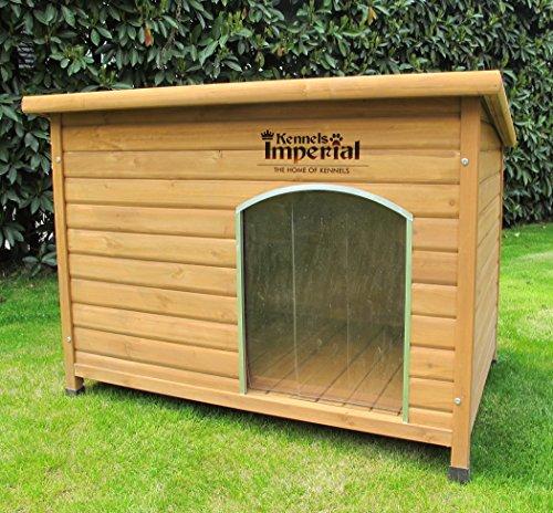 Kennels Imperial® XL Isolierte Norfolk Hundehütte Aus Holz Mit Entfernbarem Boden Zur Einfachen Reinigung B