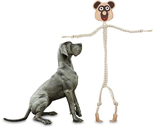 Knuffelwuff 13872-002 Hundespielzeug Seilspielzeug Mr. Willy, 76 cm