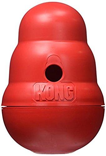 Kong 47522 Hundespielzeug Wobbler, befüllbar mit Snacks