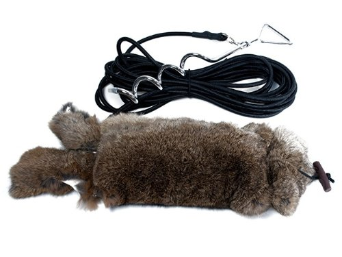 Mystique Dummy Running Kaninchendummy Rabbit mit Fell RRFF100