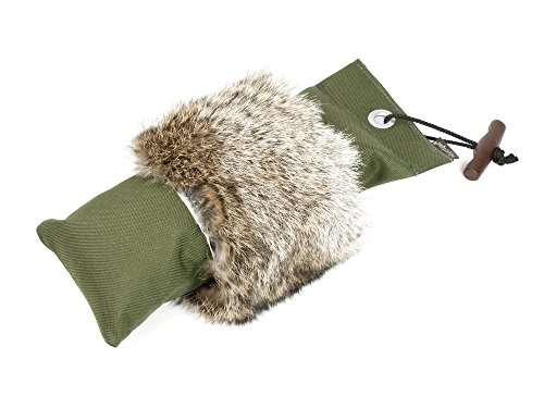 Mystique® Pointer Dummy 1,5kg khaki mit Fell