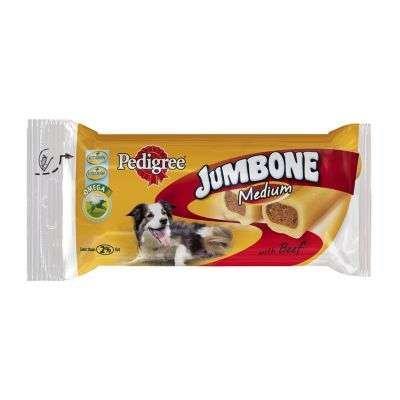 Pedigree Jumbone Medium mit Rind 12 Stück x 2 Stück pro Packung