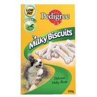 Pedigree Milky Biscuits 350g, einen Artikel