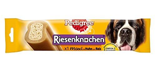 Pedigree Riesenknochen Maxi Hundesnack mit Huhn, 12 Packungen (12 x 200 g)