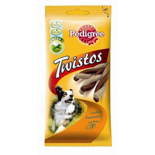 Pedigree | Snack Twistos mit Huhn | 12 x 8 Stück