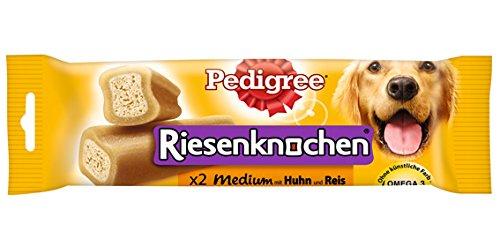 Pedigree Snacks Riesenknochen Medium mit Huhn, 12x2 Stück