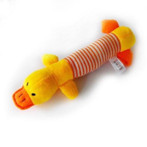 Sanwood Hundespielzeug Plüsch-Sound-Haustier-Welpen kauen Quietsche Squeaky Model 2