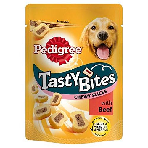 Stamm Tasty Bites Dog Treats mit Rind 155g
