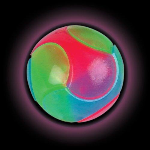 Tennisball-Sized-Blitzen leuchten Spectra Strobe Ball Spielzeug für Kinder oder Hunde