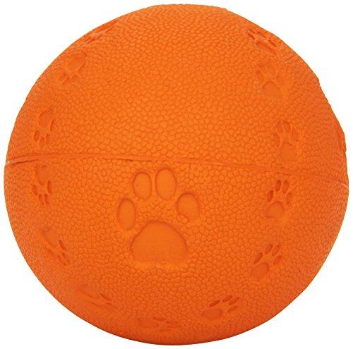 Trixie 34862 Spielball, Quietscher ø 7 cm (farblich sortier)