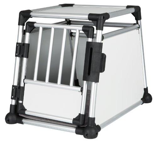 Trixie 39341 Transportbox, Aluminium, 55 x 62 x 78 cm, farblich sortiert