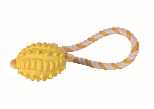 Trixie Rugby Ball am Seil, 8x 32cm, 4Stück