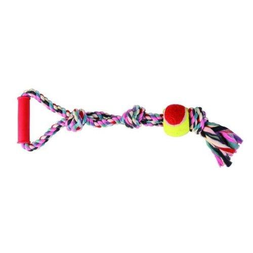 Trixie Tennisball am Seil, Greifer, ø 6 cm/50 cm