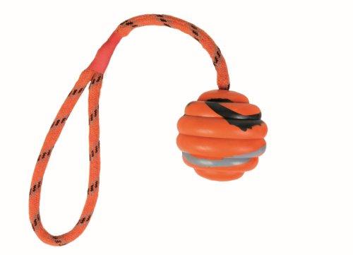 Trixie Wellenball am Seil, Naturgummi, ø 6 cm/30 cm