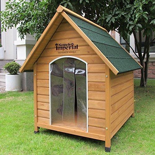 XL Sussex Hundehütte Aus Holz Mit Entfernbarem Boden Zur Einfachen Reinigung B