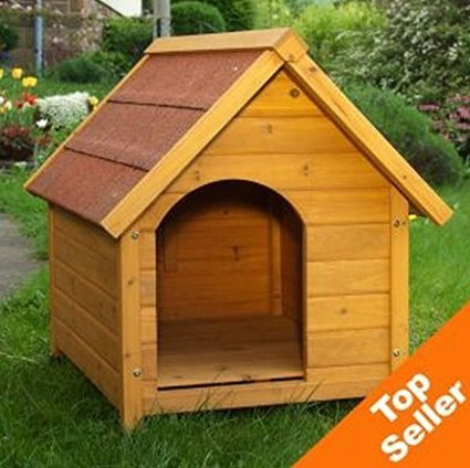 eCommerce Excellence Hundehütte aus Holz