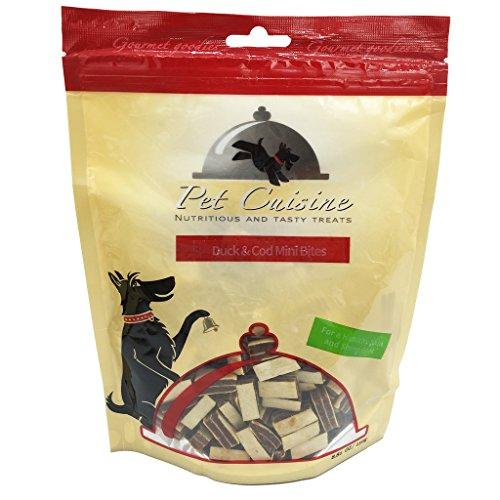 Pet Cuisine Hundeleckerli Hundesnacks Welpen Kausnacks, Ente & Kabeljau Mini Sandwich, 250g