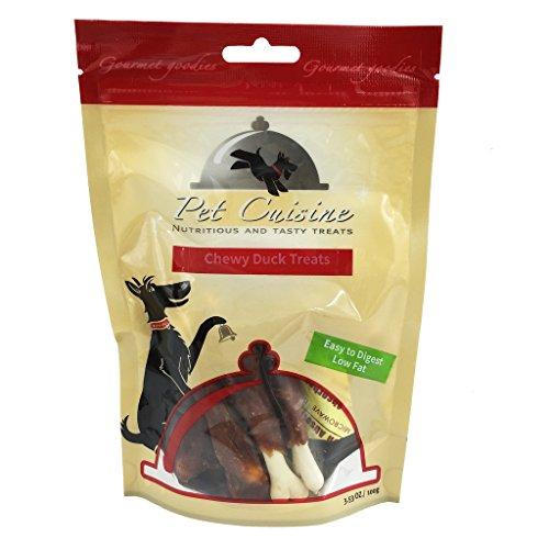 Pet Cuisine Hundeleckerli Hundesnacks Welpen Kausnacks, Entenkeulen Kauknochen, 100g