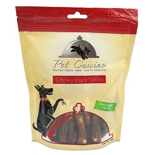 Pet Cuisine Hundeleckerli Hundesnacks Welpen Kausnacks, Entenkeulen Kauknochen, 250g