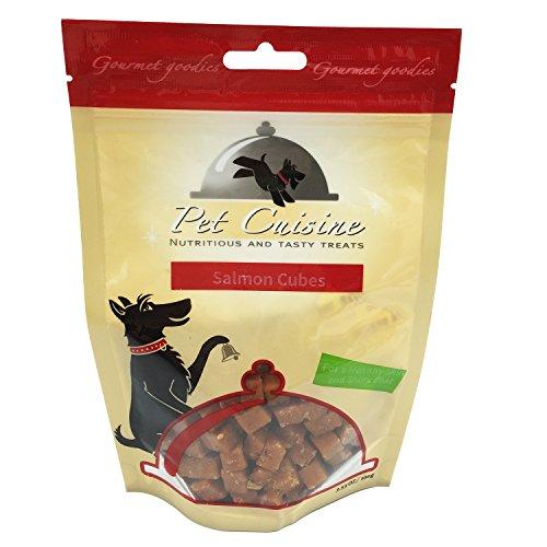 Pet Cuisine Hundeleckerli Hundesnacks Welpen Kausnacks, Lachswürfel, 100g