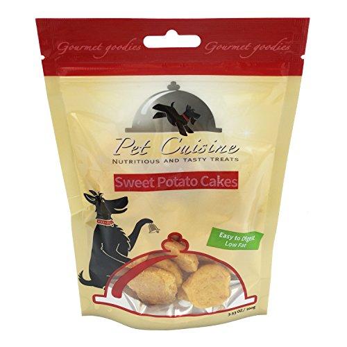 Pet Cuisine Hundeleckerli Hundesnacks Welpen Kausnacks, Süßkartoffel Herzform Hundekekse, 100g