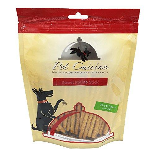 Pet Cuisine Hundeleckerli Hundesnacks Welpen Kausnacks, Süßkartoffel Nature Kausticks, 250g