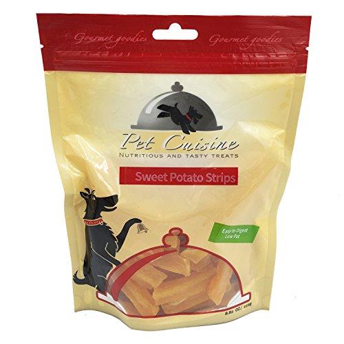 Pet Cuisine Hundeleckerli Hundesnacks Welpen Kausnacks, Süßkartoffel Streifen, 250g