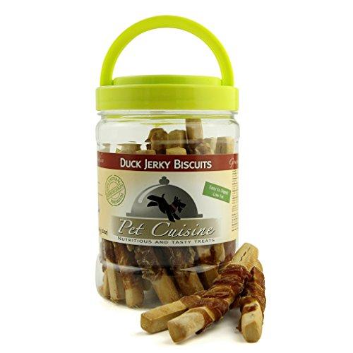 Pet Cuisine Hundesnacks Hundeleckerli Kausnacks, Entenfleisch Hundekuchen, 340g