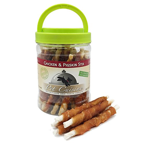 Pet Cuisine Hundesnacks Hundeleckerli Kausnacks, Huhn & Schweine Sticks, 340g