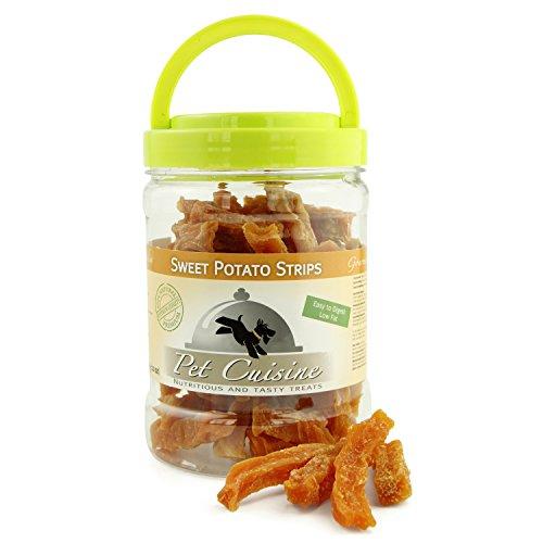 Pet Cuisine Hundesnacks Hundeleckerli Kausnacks, Süßkartoffel Streifen, 340g