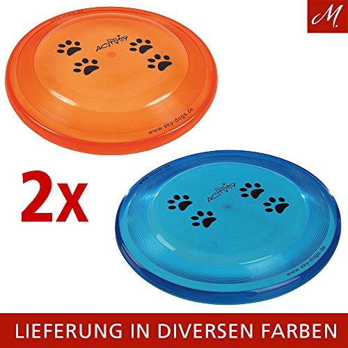 Trixie Dog Disc Frisbee bissfest - 23 cm-2PACK