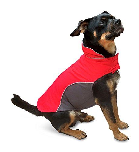Warmer Hundemantel von Smarty, Innen mit Fleece, hochwertiges Material, atmungsaktiv und wasserabweisend