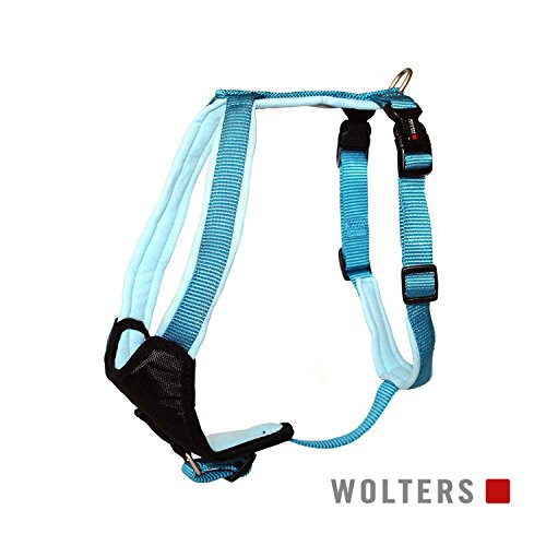 Wolters | Geschirr Professional Comfort in Aqua/Azur | Brustumfang 27 - 32 cm