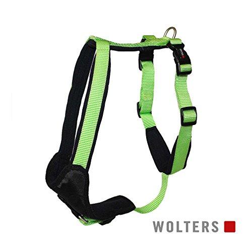 Wolters | Geschirr Professional Comfort in Kiwi/Schwarz | Brustumfang 45 - 50 cm