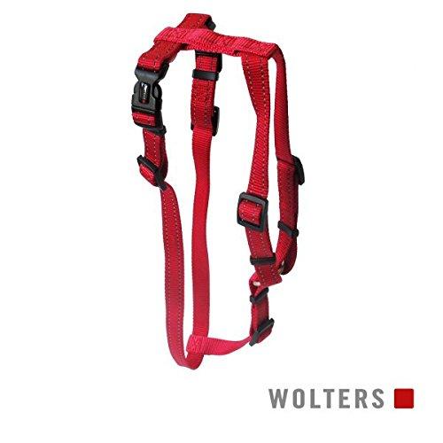 Wolters Hundegeschirr Soft & Safe für Mops & Co, L: 50-80cm cayenne